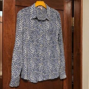Juicy Couture women's silky button up size medium